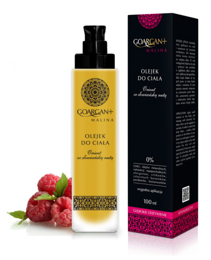 Deeply Nourishing Body Oil GoArgan+ RASPBERRY 100ml