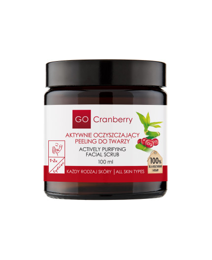 Actively Purifying Facial Scrub GoCranberry 100 ml