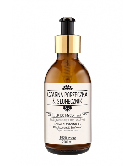 Facial Cleansing Oil Blackcurrant & Sunflower 200 ml